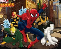 טפט ספיידרמן וגיבורי העל