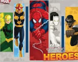תמונת טפט ספיידרמן וגיבורי העל