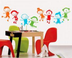מדבקות קיר לילדים
