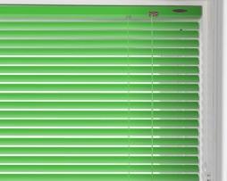 וילון ונציאני בגוון ירוק