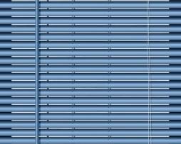 וילון ונציאני כחול מטאלי