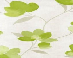 טפט פרחים בגוון ירוק בהיר