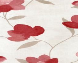 טפט פרחים בגוון בורדו