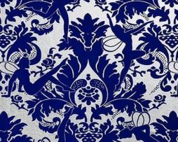 טפט קטיפה פיות בגוון כחול