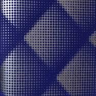 טפט מעויינים קטיפה בגוון כחול
