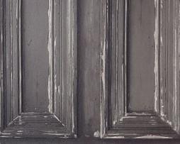 טפט לקיר דלתות ישנות צבע שחור