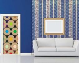 תמונת טפט משושים בצבעים
