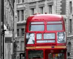 תמונת טפט אוטובוס בלונדון