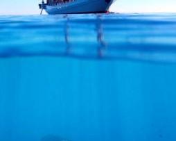 תמונת טפט אונייה בים