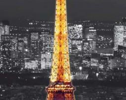תמונת טפט מגדל אייפל בלילה