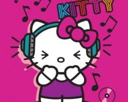 תמונת טפט הלו קיטי באוזניות