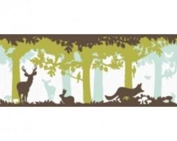 בורדר לילדים ג'ונגל ואיילים