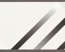 בורדר צורות קווים בגוון אפור לבן