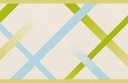 בורדר צורות קווים בגוון ירוק