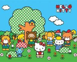 תמונת טפט הלו קיטי וחברים