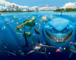תמונת טפט חיות ים נמו הדג