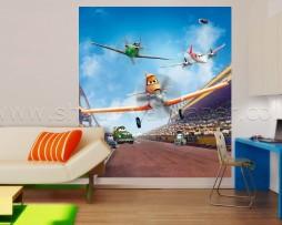 תמונת קיר דיסני מטוסים נוחתים