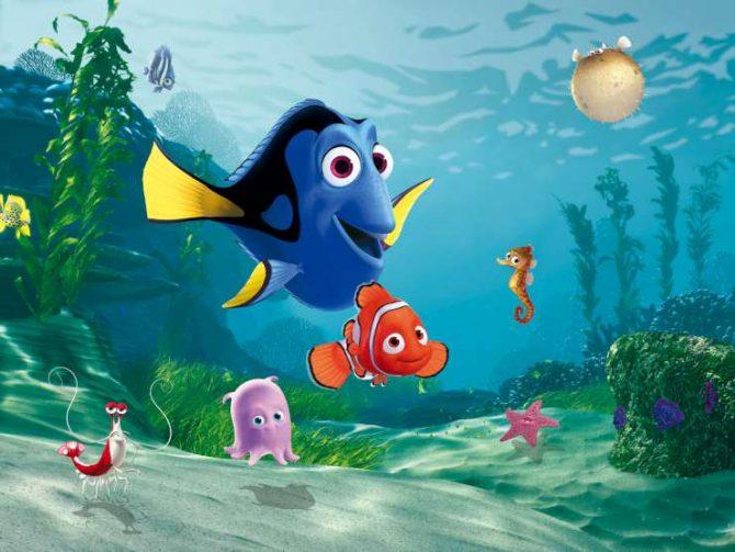תמונת טפט נמו הדג וחבריו