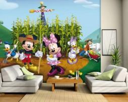 תמונת טפט מיקי מאוס וחבריו דוגמא