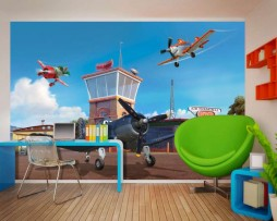 תמונת טפט מטוסים ומכוניות דוגמא