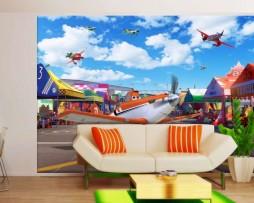 תמונת טפט מטוסים דוגמא