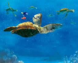תמונת טפט צב ים של נמו הדג