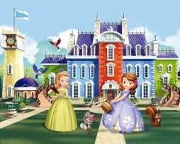 תמונת טפט נסיכות על רקע בית