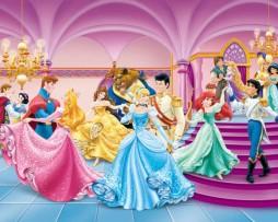 תמונות טפטים לחדרי ילדים נסיכות וולט דיסני