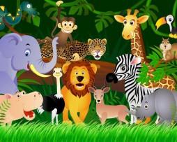 תמונת טפט חיות בג'ונגל