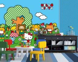 תמונת טפט הלו קיטי וחברים דוגמא