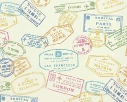 טפט לקיר כרטיסים צבעוניים