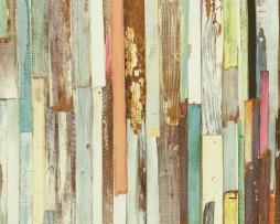 טפט לקיר דמוי עץ צבעוניים