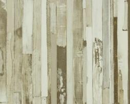 טפט לקיר דמוי עץ גווני אפור