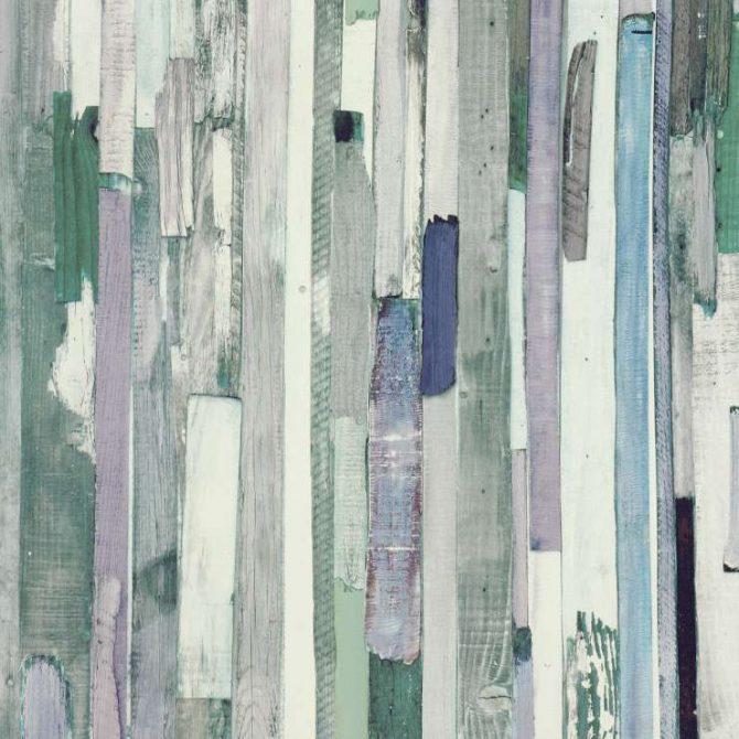 טפט לקיר לוחות עץ בגוונים