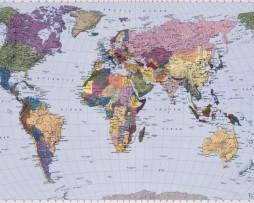 תמונת טפט מפת עולם
