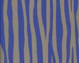טפט לקיר דמוי עור טיגריס בגוון כחול