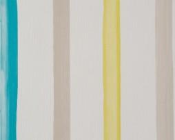 טפט פסים צבעוני לקיר בגוון טורקיז אפור וירוק