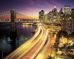 תמונת טפט לקיר אורות ניו יורק
