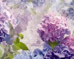 תמונת טפט מכתב ברקע פרחים