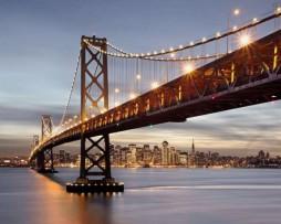 תמונת טפט גשר המפרץ סן פרנסיסקו