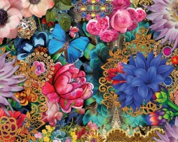 תמונת טפט פרחים מצוירים