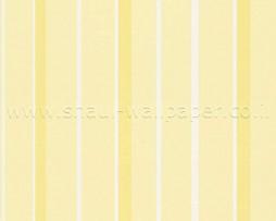 טפט פסים צהוב לבן