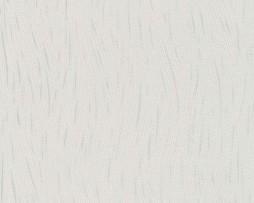 טפט לקיר פסים מיוחד בגוון לבן וכסף