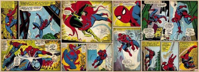 תמונת טפט לקיר קומיקס