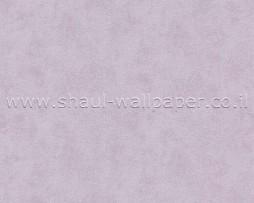 טפט פסים נוצץ לקיר בגוון סגול לילך וכסף