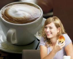 תמונת טפט לדלת קפה