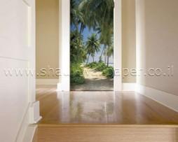 תמונת טפט לדלת הדרך אל החוף