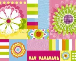תמונת טפט פרחים בצבעים