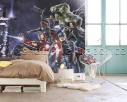 תמונת טפט גיבורי העל בלילה