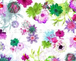 תמונת טפט פרחים מצויירים